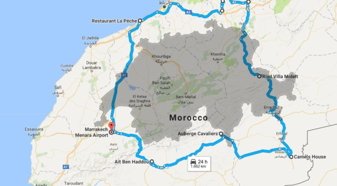 12 Day Morocco Road Trip